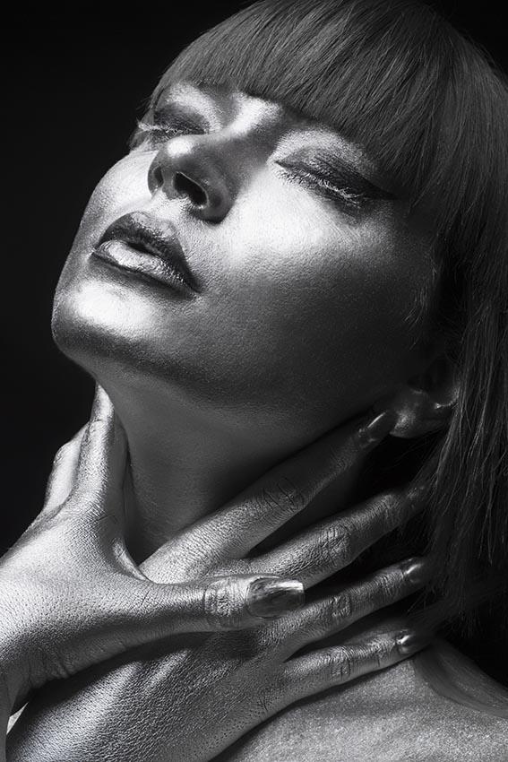 Silver make up artistico di Roberta Larosa