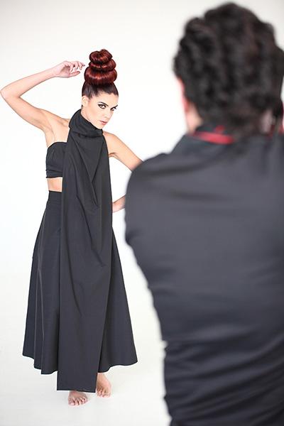 Backstage servizio fotografico (1) Francesca Ricciardi fotografa - Genova