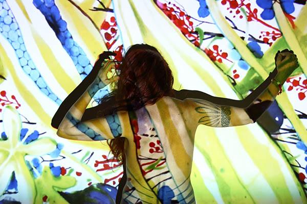 "Helga Grisot, esposizione ""Disegni da Indossare"" (4) foto di Francesca Ricciardi"